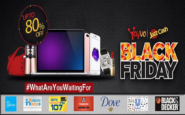 Many Brands are Partnering with Yayvo on this Black Friday