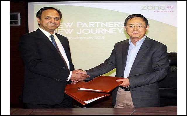 Zong to Offer 4G Connectivity on Daewoo Buses and Cabs Across Pakistan