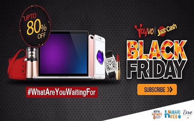 Yayvo.com & JazzCash Team Up For Black Friday 2016