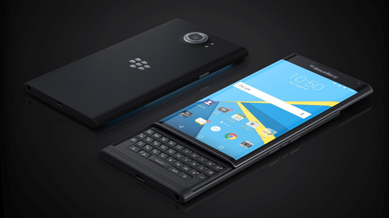 BlackBerry's New come back by Keyboard comfort