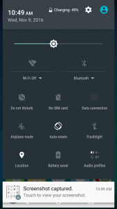 qmobile noir s6s user interface