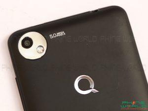 qmobile x700 pro 2 back camera flash light
