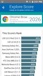 qmobile x700 pro 2 vellamo results