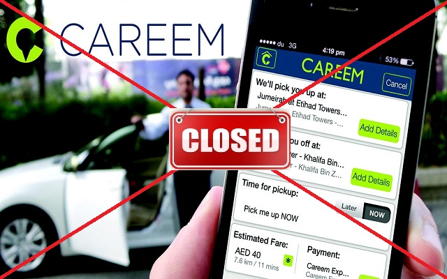 Careem Amongst other Shut Down for Illegal Operations in Islamabad