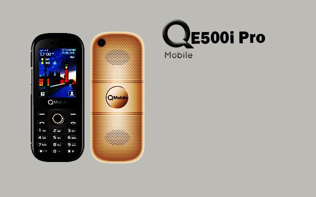 qmobile e500i pro music