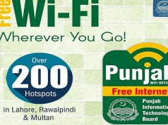 PITB Proudly Launches 200 Free WiFi Hotspots