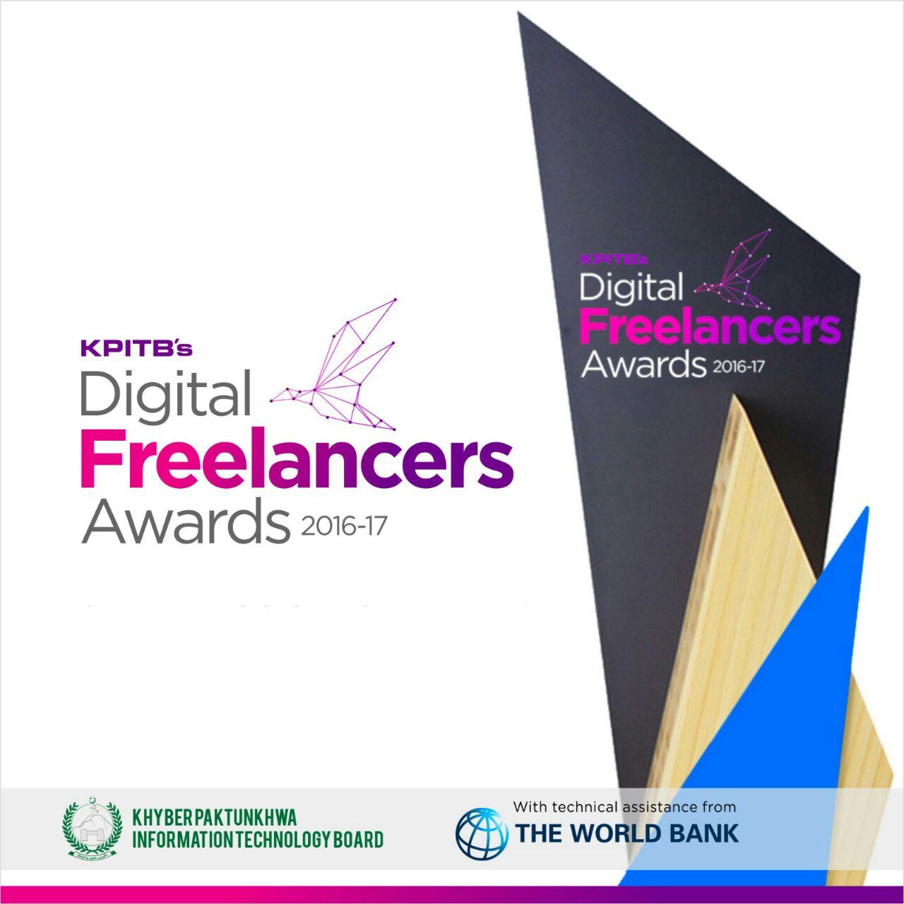 KPITB Announces Digital Freelancers Awards 2016-17