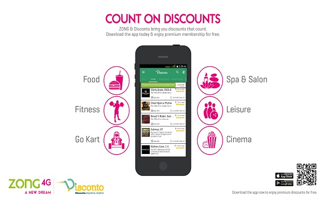 Zong Partners with Disconto to Provide Exciting Discounts to its Subscribers