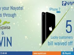 Nayatel bill through easypaisa