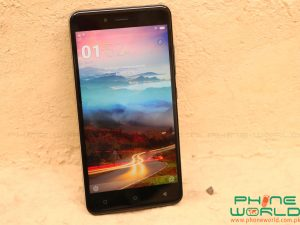 qmobile j7 pro front display
