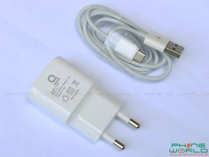 qmobile kingkong max accessories charger data cable headphones