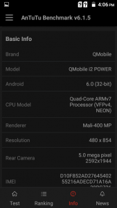 qmobile noir i2 power antutu results