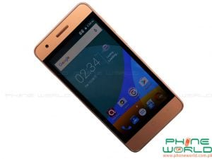 qmobile noir i2 power front display