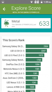 qmobile noir i2 power vellamo results