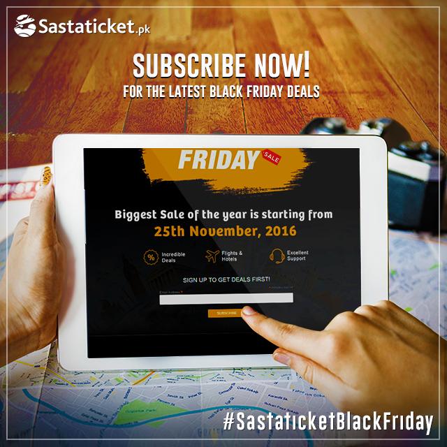Sastaticket.pk Witnesses Record-Breaking Online Sales on Black Friday