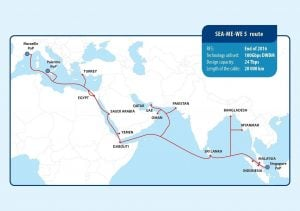 SEA-ME-WE 5 Submarine Cable at the Global Carrier Awards