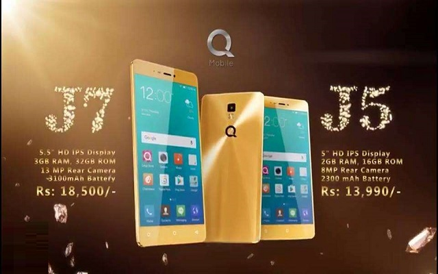 QMobile Noir J7 Vs J5- Series That Make You Go Glam