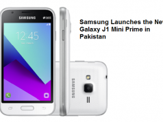 Samsung Launches the New Galaxy J1 Mini Prime in Pakistan
