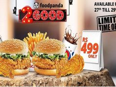 KFC and foodpanda Brings 2 Good Deal for Just Rs. 499