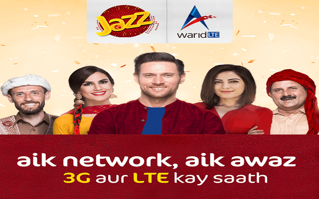 It's Official Launch of 3G Services for Warid & LTE Services for Jazz Subscribers