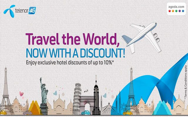 Telenor Offers Exclusive Discount on Traveling via Agoda