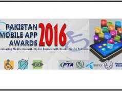 "PTA to Announce Winners of ""Pakistan Mobile App Awards 2016"""