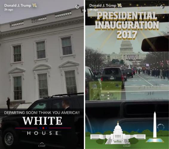 Trump-Snapchat
