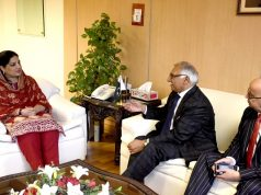 U.K Delegation Calls on Anusha Rehman to Discuss Cooperation in IT Sector