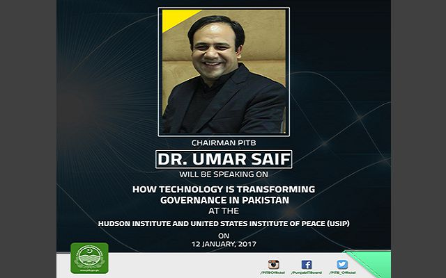 Umar Saif to Present Pakistan at the Hudson Institute & USIP in Washington Today