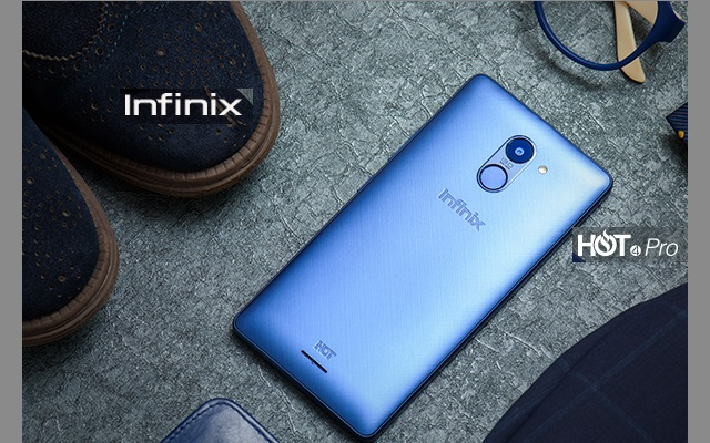 Infinix Launches Super Stylish 4G Enabled Hot 4 Pro