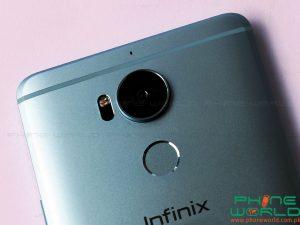 infinix zero 4 plus back camera led flash light fingerprint scanner