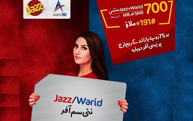 Jazz Brings New SIM Offer