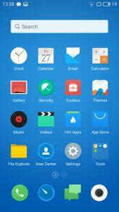 meizu mx6 interface display