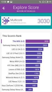 meizu mx6 vellamo scores and comparison
