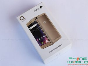 qmobile energy x1 retail box
