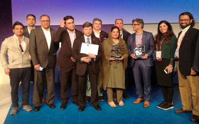 Anusha Rahman Wins for Pakistan the Government Leadership Award at GSMA