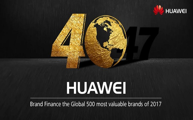 Huawei Ranked Among the Most Valuable Global Brands by 'Brand Finance'