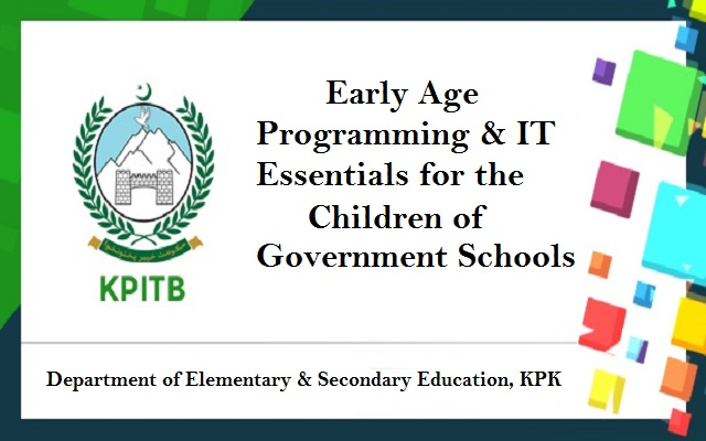 KPITB, Education Department sign MoU to Launch 'Early Age Programming & IT Essentials'