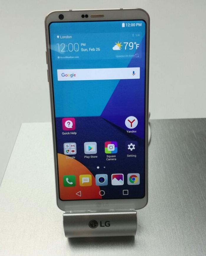LG G6 at MWC 2017