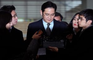Samsung Vice Chairman Jay Y. Lee Arrested on Corruption Charges
