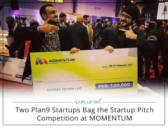 Two Plan9 Startups Bag the Startup Pitch Competition at MOMENTUM