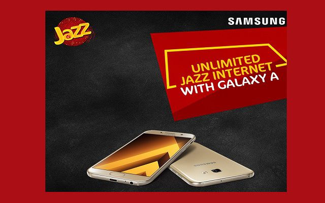 Enjoy Unlimited Jazz Internet for a Month with Galaxy A Series