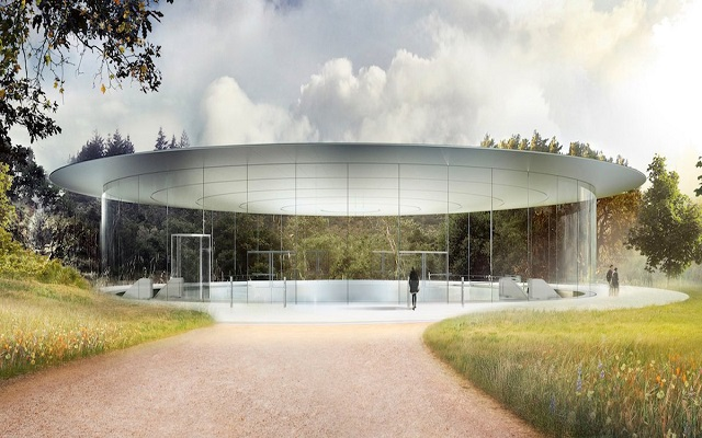 Apple to Inaugurate $5 Billion Spaceship Campus in April
