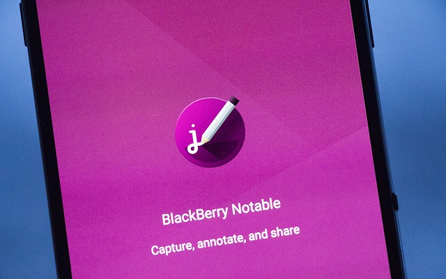 BlackBerry Introduces Screen Capture App