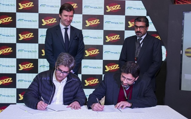 Secure Tech Consultancy Signs Contract with Jazz