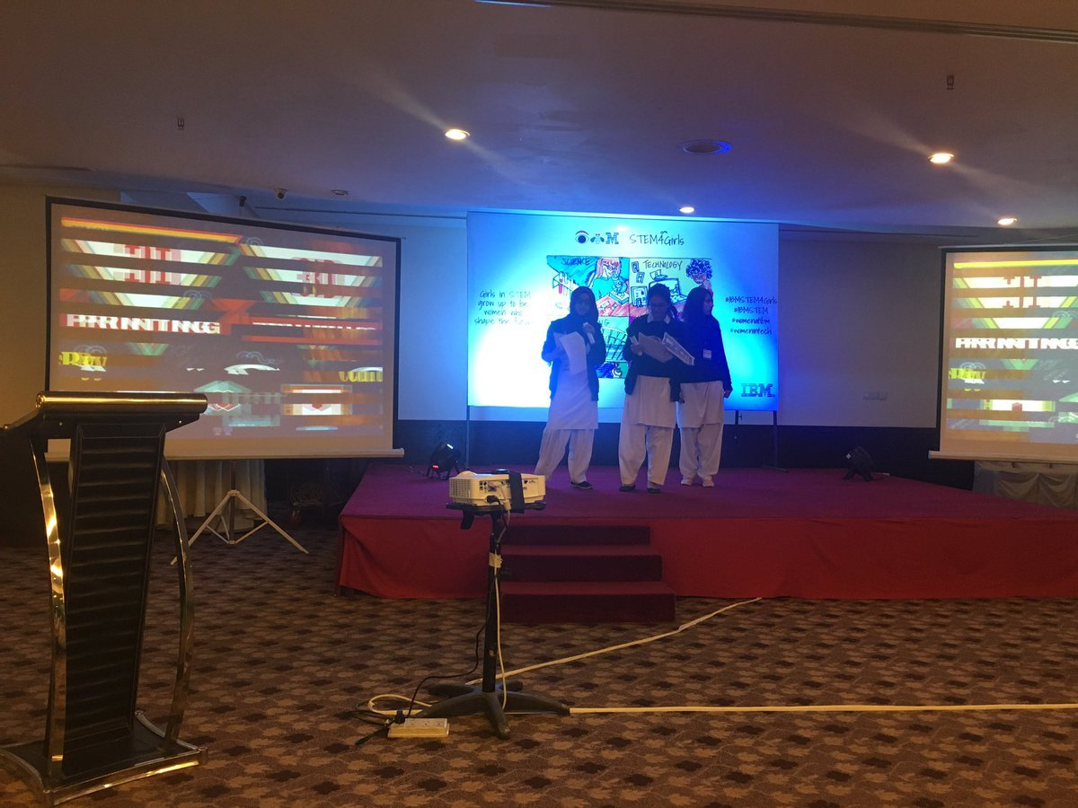 IBM Pakistan Hosts First Ever STEM Forum for High School Girls in Islamabad