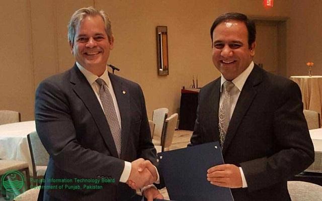 Chairman PITB Signs MOU