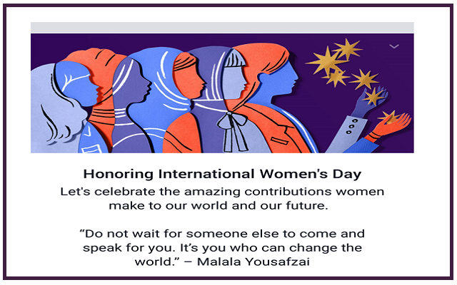 """Facebook Wishes """"International Women Day"""" to All Great Women in the World"""