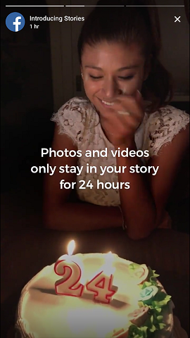 Facebook Introduces 'Facebook Stories' Feature in its Latest Update
