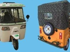 'The Green Wheels' Introduces First Hybrid Rickshaw with Wi-Fi in Pakistan